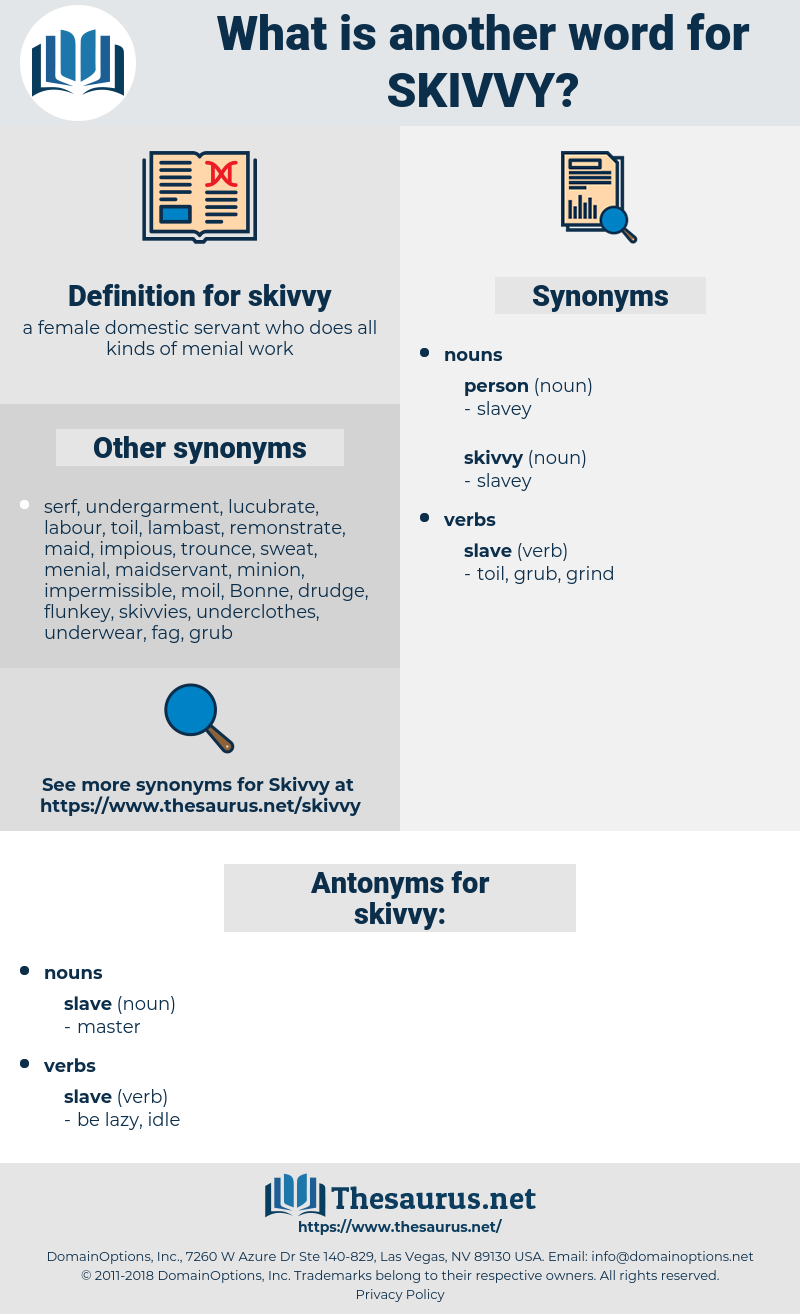skivvy, synonym skivvy, another word for skivvy, words like skivvy, thesaurus skivvy