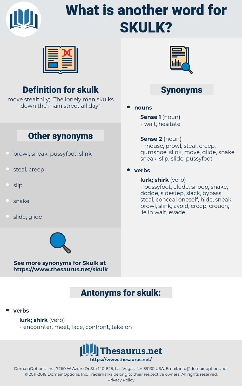 skulk, synonym skulk, another word for skulk, words like skulk, thesaurus skulk