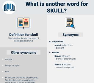 skull, synonym skull, another word for skull, words like skull, thesaurus skull