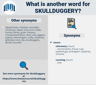 skullduggery, synonym skullduggery, another word for skullduggery, words like skullduggery, thesaurus skullduggery