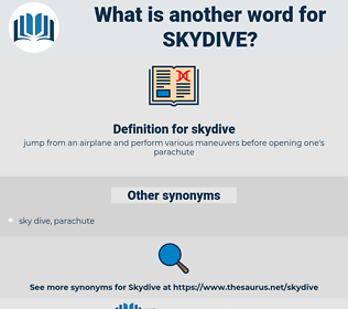 skydive, synonym skydive, another word for skydive, words like skydive, thesaurus skydive