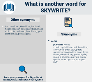 skywrite, synonym skywrite, another word for skywrite, words like skywrite, thesaurus skywrite