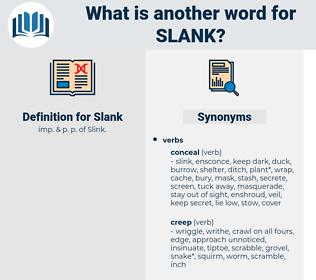 Slank, synonym Slank, another word for Slank, words like Slank, thesaurus Slank