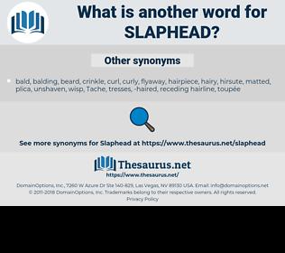 slaphead, synonym slaphead, another word for slaphead, words like slaphead, thesaurus slaphead