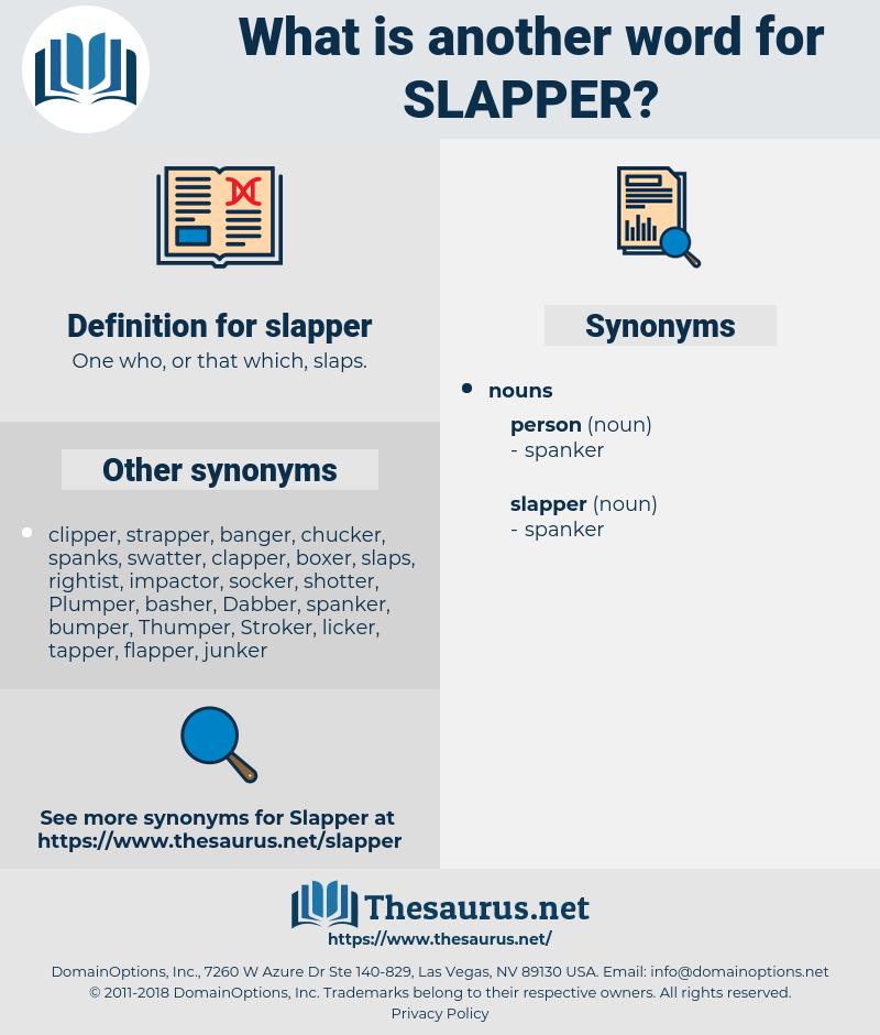 slapper, synonym slapper, another word for slapper, words like slapper, thesaurus slapper