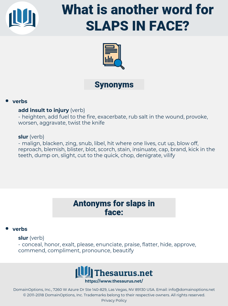 slaps in face, synonym slaps in face, another word for slaps in face, words like slaps in face, thesaurus slaps in face