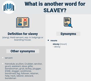 slavey, synonym slavey, another word for slavey, words like slavey, thesaurus slavey