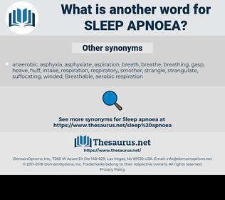 sleep apnoea, synonym sleep apnoea, another word for sleep apnoea, words like sleep apnoea, thesaurus sleep apnoea