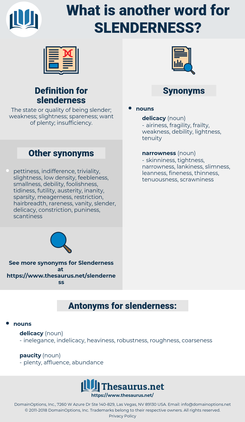 slenderness, synonym slenderness, another word for slenderness, words like slenderness, thesaurus slenderness