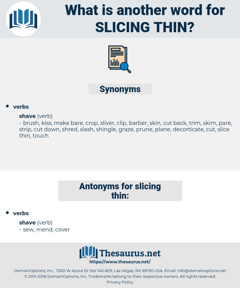 slicing thin, synonym slicing thin, another word for slicing thin, words like slicing thin, thesaurus slicing thin
