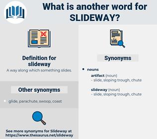 slideway, synonym slideway, another word for slideway, words like slideway, thesaurus slideway