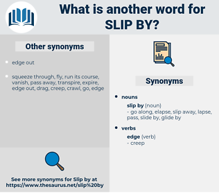 slip by, synonym slip by, another word for slip by, words like slip by, thesaurus slip by
