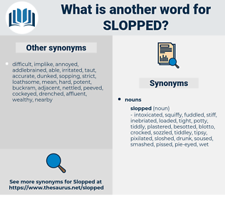 slopped, synonym slopped, another word for slopped, words like slopped, thesaurus slopped