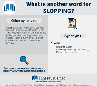 Slopping, synonym Slopping, another word for Slopping, words like Slopping, thesaurus Slopping