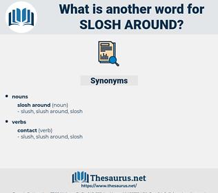 slosh around, synonym slosh around, another word for slosh around, words like slosh around, thesaurus slosh around