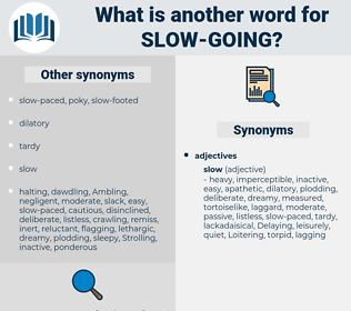 slow going, synonym slow going, another word for slow going, words like slow going, thesaurus slow going