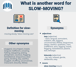 slow-moving, synonym slow-moving, another word for slow-moving, words like slow-moving, thesaurus slow-moving