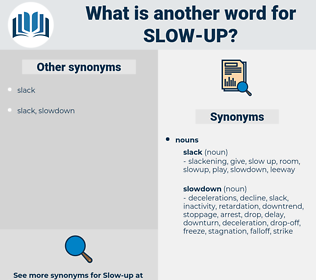 slow up, synonym slow up, another word for slow up, words like slow up, thesaurus slow up