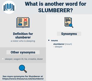 slumberer, synonym slumberer, another word for slumberer, words like slumberer, thesaurus slumberer