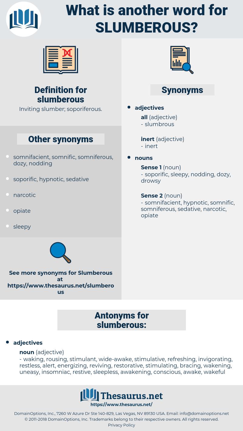 slumberous, synonym slumberous, another word for slumberous, words like slumberous, thesaurus slumberous