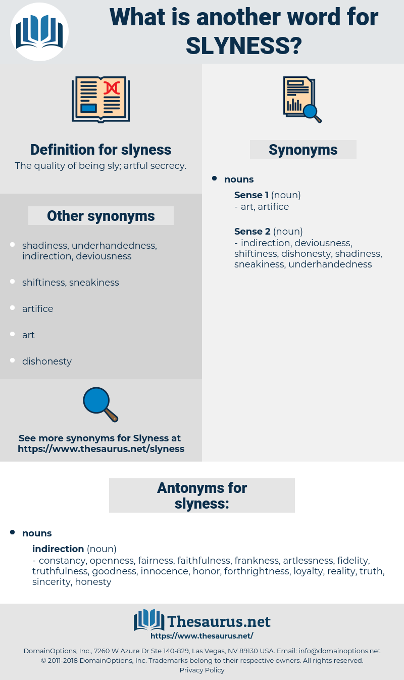 slyness, synonym slyness, another word for slyness, words like slyness, thesaurus slyness