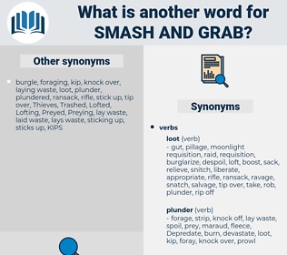 Smash and Grab, synonym Smash and Grab, another word for Smash and Grab, words like Smash and Grab, thesaurus Smash and Grab