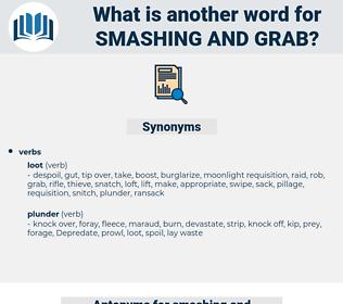 smashing and grab, synonym smashing and grab, another word for smashing and grab, words like smashing and grab, thesaurus smashing and grab