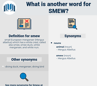 smew, synonym smew, another word for smew, words like smew, thesaurus smew