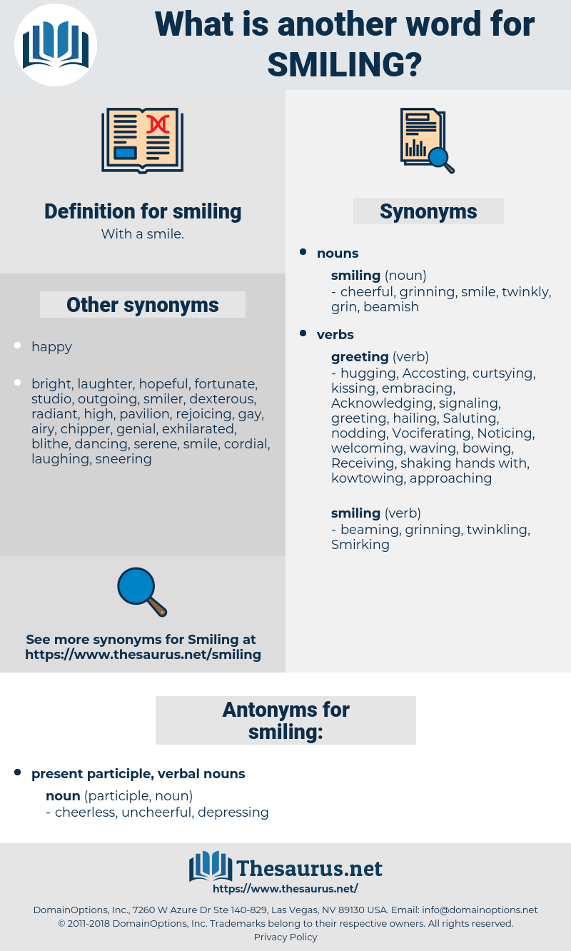 smiling, synonym smiling, another word for smiling, words like smiling, thesaurus smiling