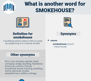 smokehouse, synonym smokehouse, another word for smokehouse, words like smokehouse, thesaurus smokehouse