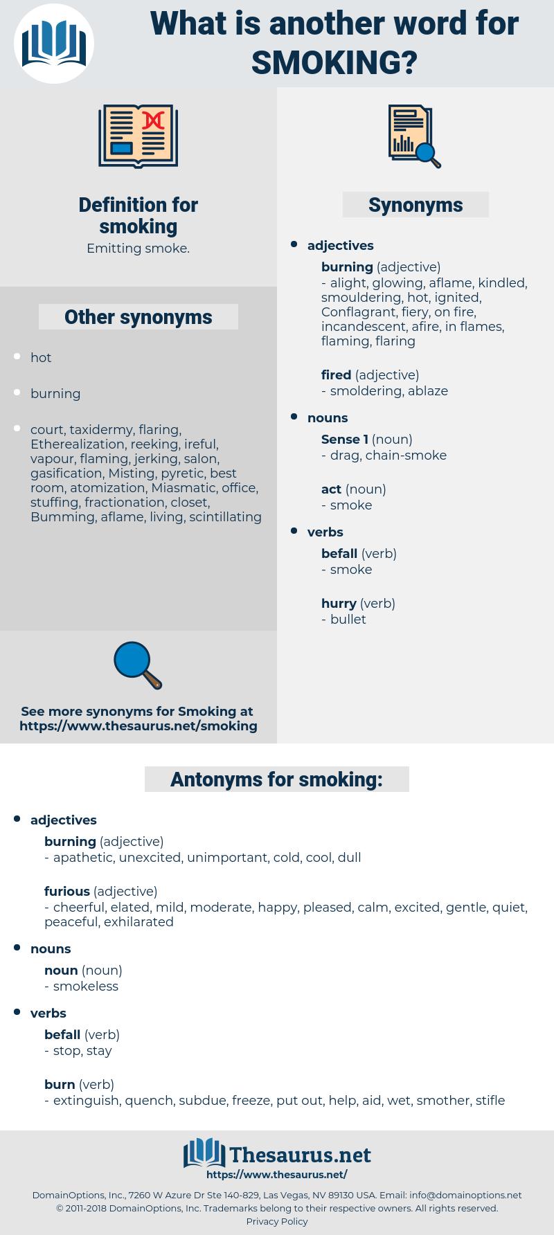 smoking, synonym smoking, another word for smoking, words like smoking, thesaurus smoking
