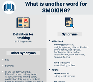 smoking, synonym smoking, another word for smoking, words like smoking, thesaurus smoking