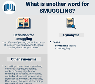 smuggling, synonym smuggling, another word for smuggling, words like smuggling, thesaurus smuggling