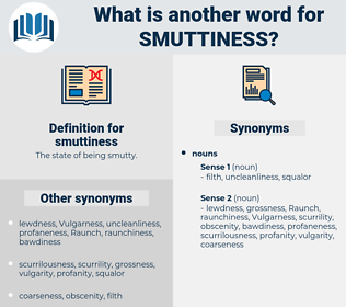 smuttiness, synonym smuttiness, another word for smuttiness, words like smuttiness, thesaurus smuttiness
