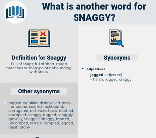 Snaggy, synonym Snaggy, another word for Snaggy, words like Snaggy, thesaurus Snaggy