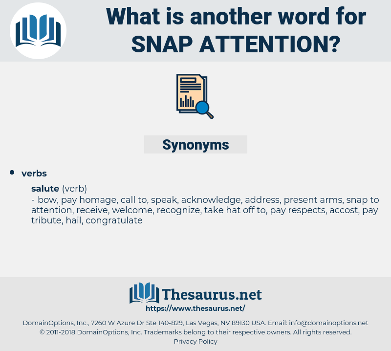 snap attention, synonym snap attention, another word for snap attention, words like snap attention, thesaurus snap attention