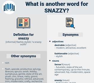 snazzy, synonym snazzy, another word for snazzy, words like snazzy, thesaurus snazzy
