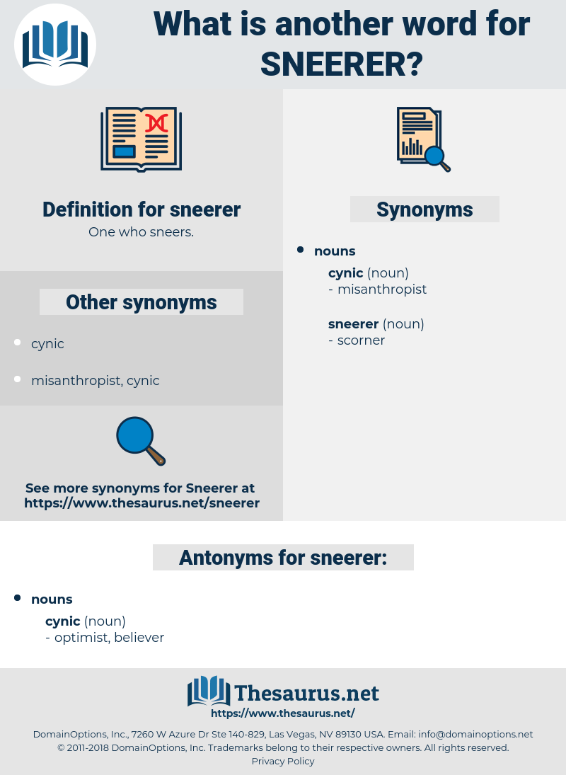 sneerer, synonym sneerer, another word for sneerer, words like sneerer, thesaurus sneerer