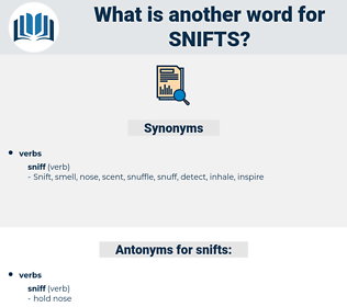 snifts, synonym snifts, another word for snifts, words like snifts, thesaurus snifts
