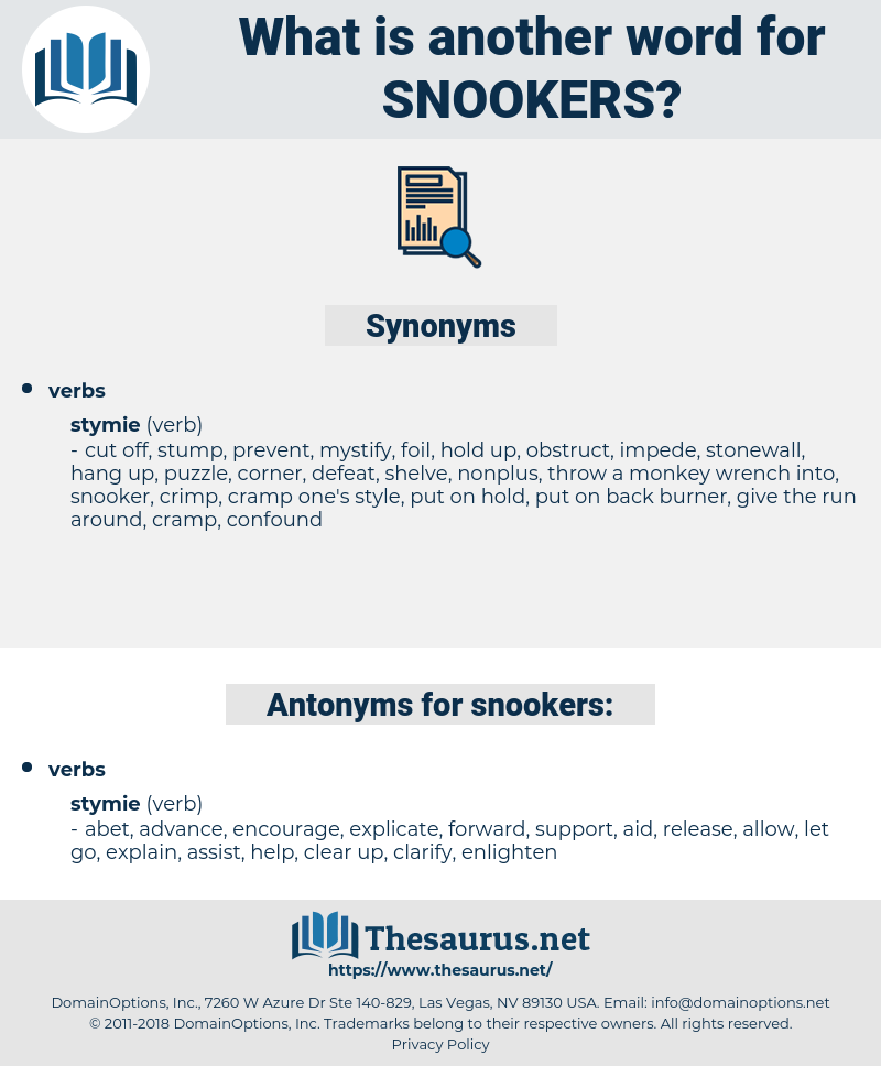 snookers, synonym snookers, another word for snookers, words like snookers, thesaurus snookers