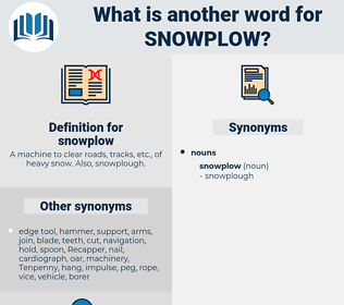 snowplow, synonym snowplow, another word for snowplow, words like snowplow, thesaurus snowplow