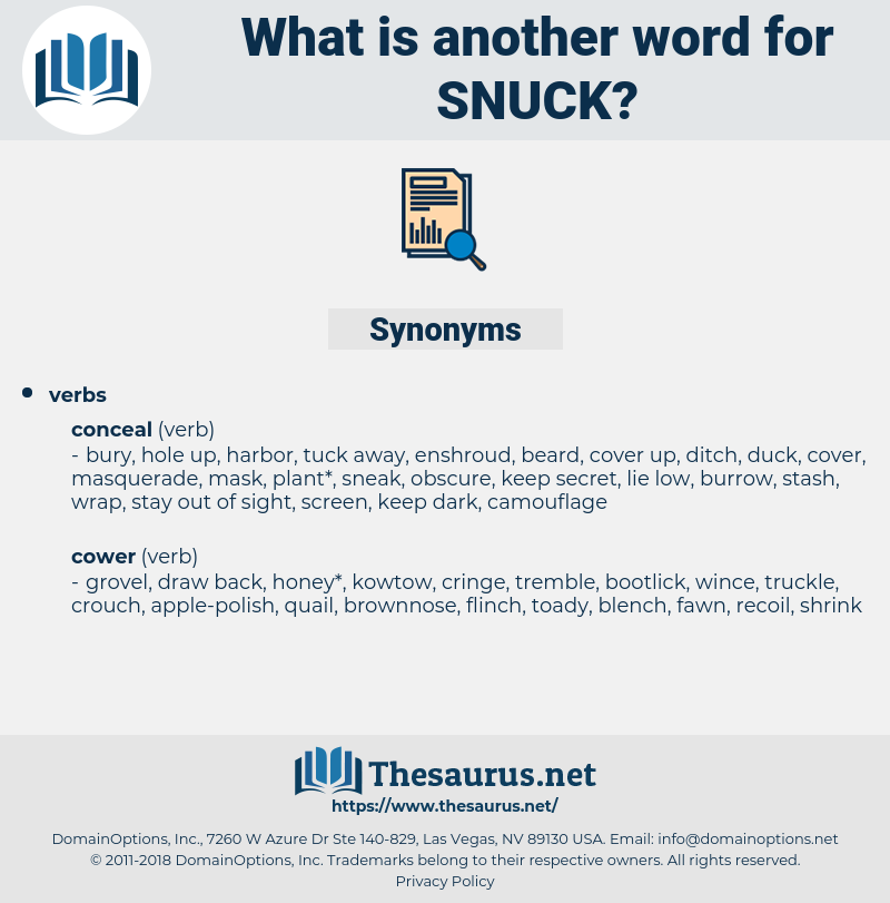 snuck, synonym snuck, another word for snuck, words like snuck, thesaurus snuck