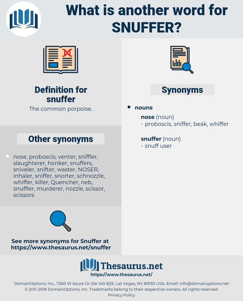 snuffer, synonym snuffer, another word for snuffer, words like snuffer, thesaurus snuffer