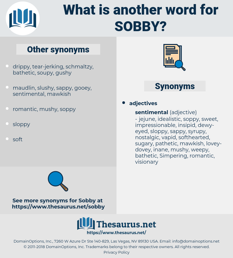 sobby, synonym sobby, another word for sobby, words like sobby, thesaurus sobby