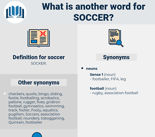soccer, synonym soccer, another word for soccer, words like soccer, thesaurus soccer