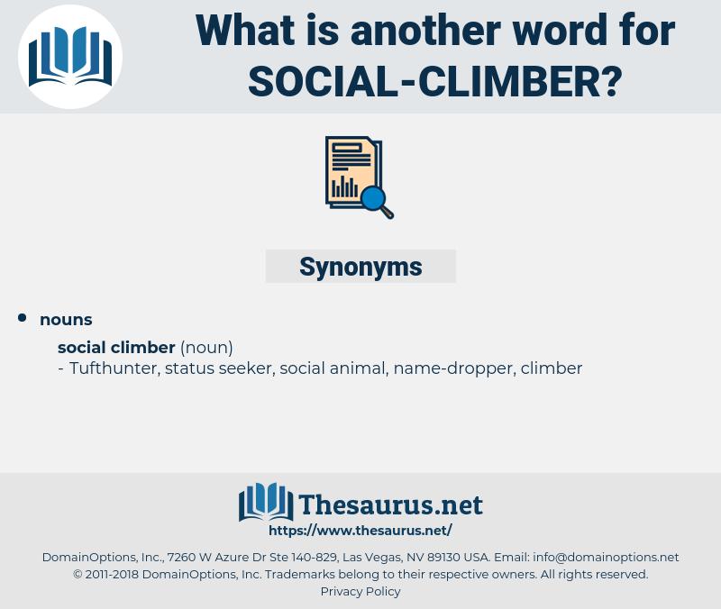 social climber, synonym social climber, another word for social climber, words like social climber, thesaurus social climber