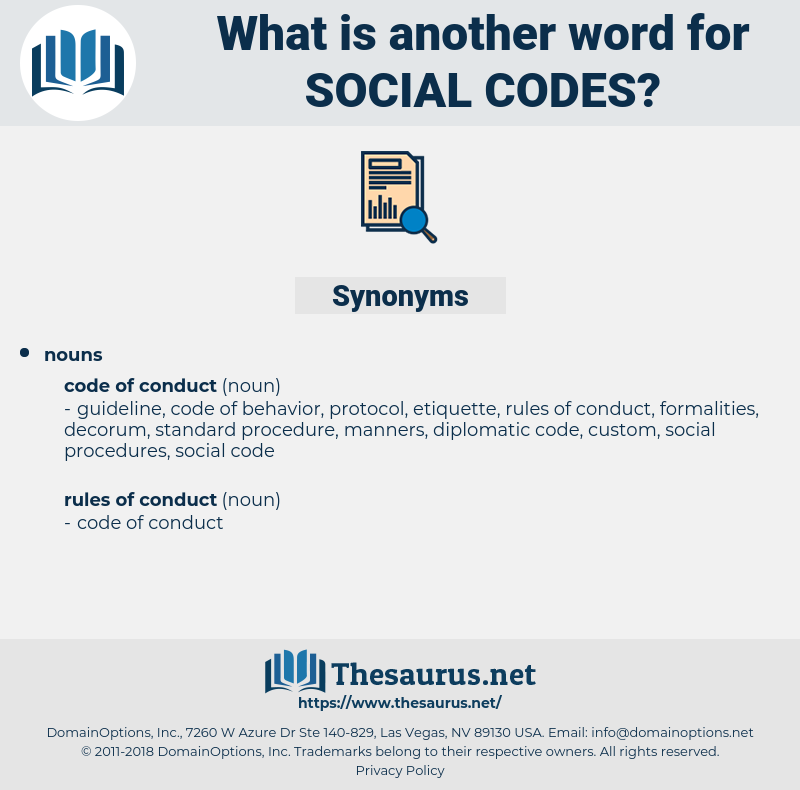 social codes, synonym social codes, another word for social codes, words like social codes, thesaurus social codes
