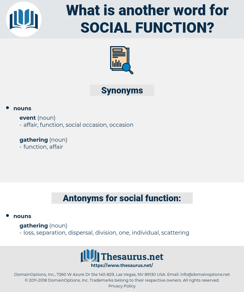 social function, synonym social function, another word for social function, words like social function, thesaurus social function