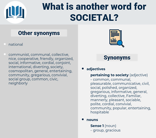 societal, synonym societal, another word for societal, words like societal, thesaurus societal