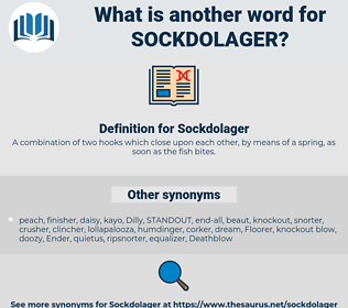 Sockdolager, synonym Sockdolager, another word for Sockdolager, words like Sockdolager, thesaurus Sockdolager